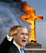 Bush supports faith based groups and organizations