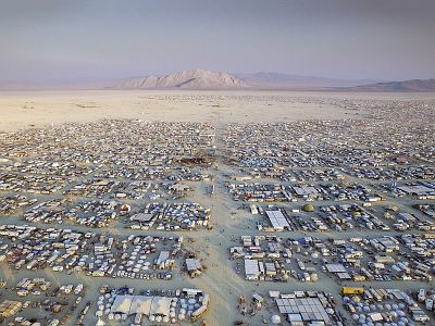 An archaeologist uses Burning Man — the world's biggest pop-up community — to learn about humanity's past settlements