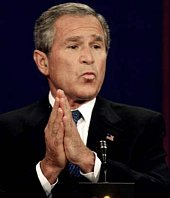 Bush loves the American people - at least some of them