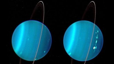 Truly, we've only begun to scratch the surface of Uranus' strangeness