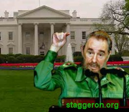 fidel castro obtains white house through eminent domain