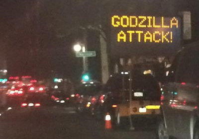 Godzilla attack threat