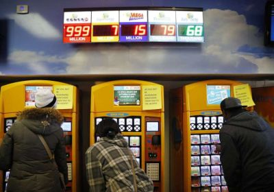 people buy lottery tickets at the Primm Valley Casino Resorts Lotto Store