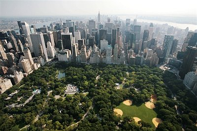 Building denser cities like Manhattan could be part of the answer
